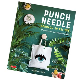 "Libro ""Punch needle"" Bordado en relieve · DRAC"