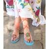Sandalias de trapillo. Patrón