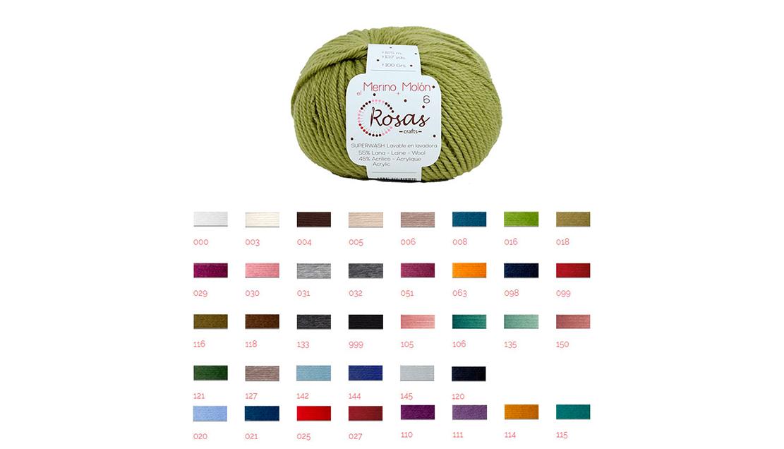 Kal Manoplas Fair Sencillas by Socks and Co. - Rosas Crafts