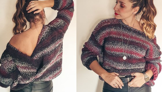 Kit Laze Sweater by @coloranta