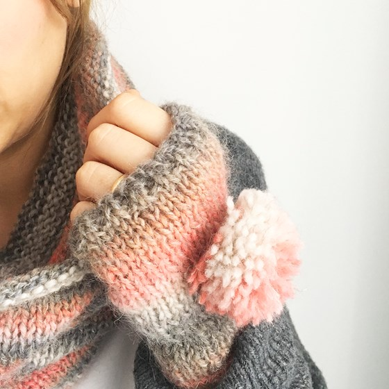 Kit Cuello y Mitones Arte by Knitting is cool